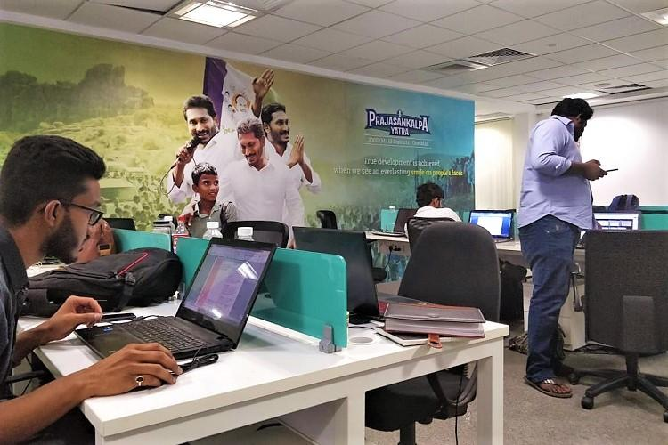 Inside I-PACs war room for Jagan Mohan Reddys Chief Ministerial campaign