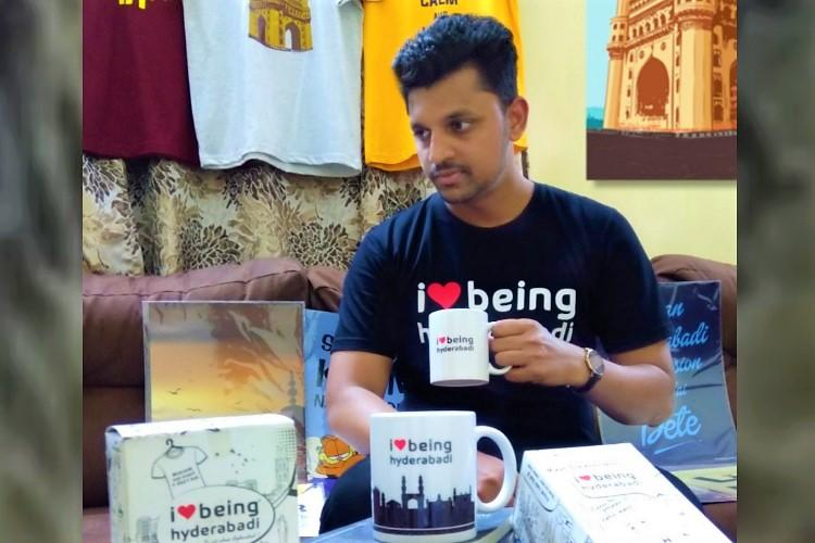 Biryani power Meet the Hyderabad man selling dakhni t-shirts and merchandise