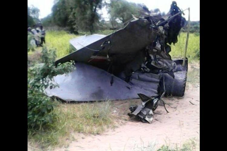IAF fighter jet crashes in Rajasthan pilots eject safely