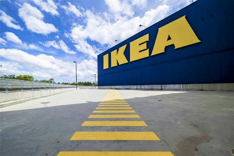 The IKEA building in Hyderabad