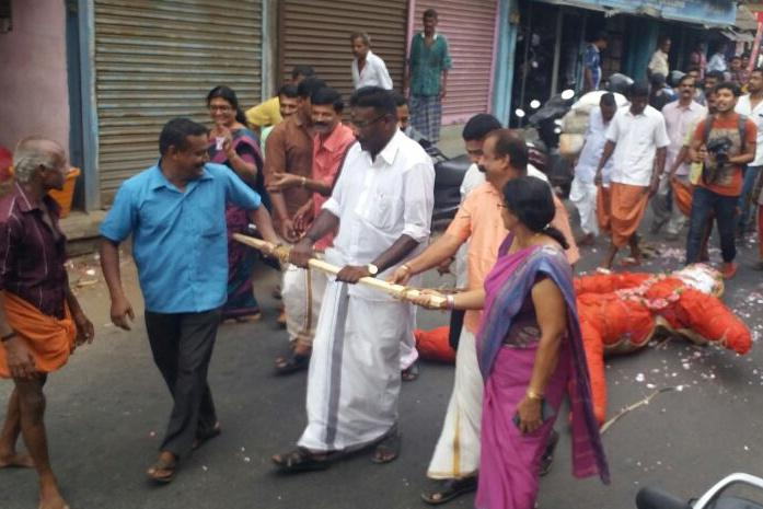 Its so hot in Palakkad people are burning effigies to appease rain god