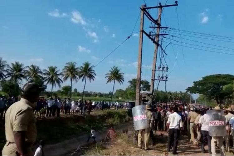 Are some lives cheaper ask Mandya villagers agitated over death of a lineman on duty