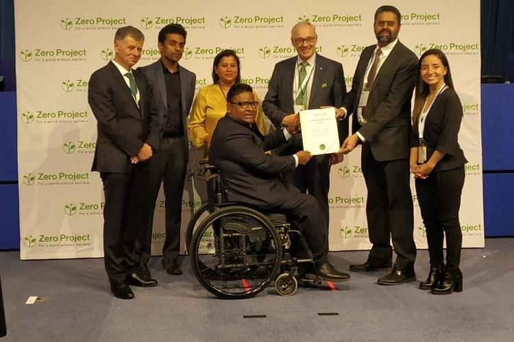 Mphasis and NCPEDP get Zero Project award for advocating a national disability policy
