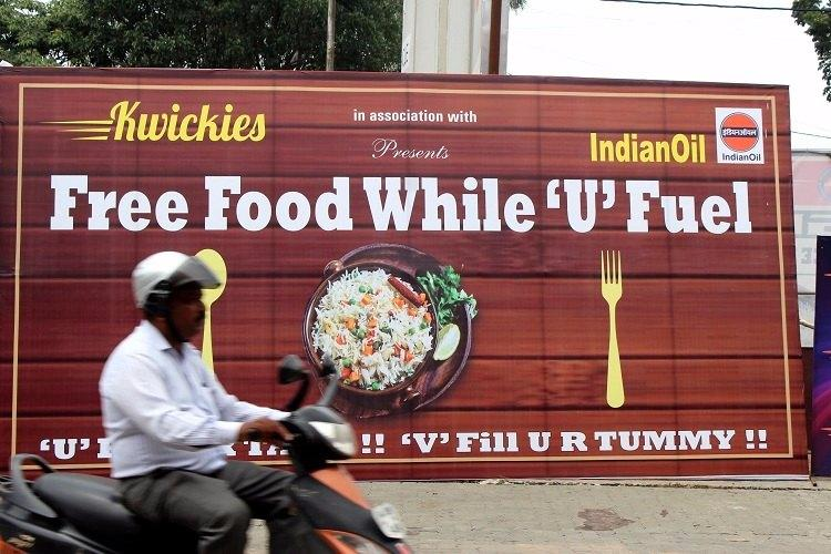 Biriyani to brownies This Bengaluru petrol pump is giving free food to its customers