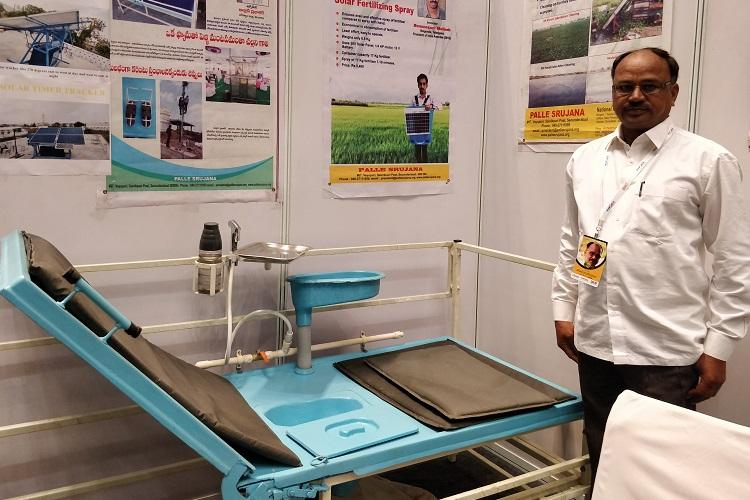 Multipurpose bed to self-charging EV Tgana electrician has 20 innovations to his name