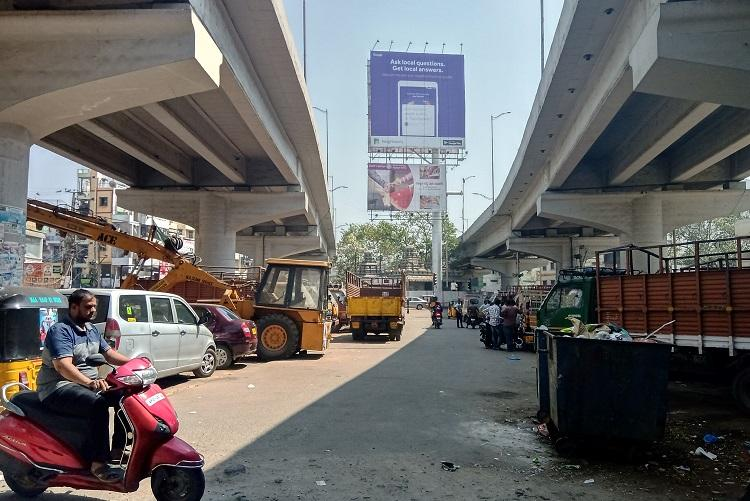Below Hyderabads Tolichowki Flyover neglect and apathy plague residents