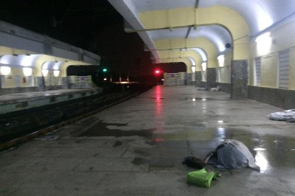 TNM Status Check How safe are Chennai local train stations at night We found out