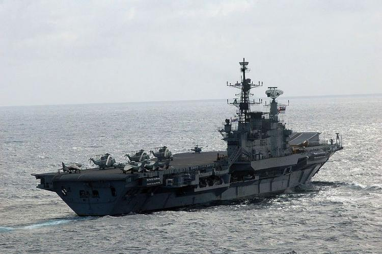 One sailor dies after fire on board INS Viraat due to stream leak from boiler room