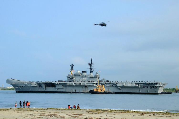 Worlds oldest aircraft carrier INS Viraat sails one last time Guess what will become of it