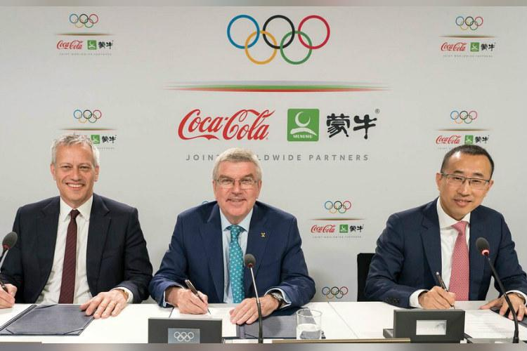 IOC signs sponsorship deal with Coca-Cola Chinas Mengniu till 2032