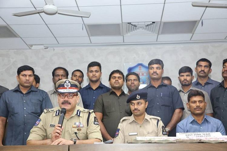 Hyderabad police bust massive IPL betting racket 12 held after raids