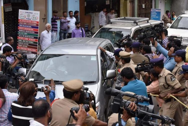 Hyderabad police arrest youth for links with ISIS sympathisers charge him with sedition