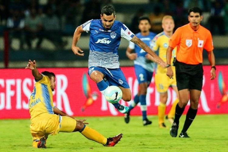 A rep pic for ISL football match for the league to be held from Nov 2020