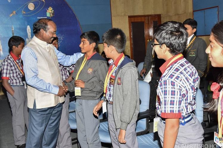 When students inspired ISRO Chairman Sivan in Bengaluru
