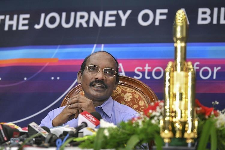 For 30 mins our hearts almost stopped ISRO chief on Chandrayaan 2 entering lunar orbit