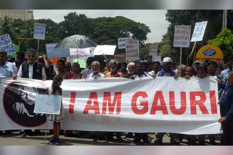 Declare Sanatan Sanstha as terror org Gauri Trust submits memorandum to Governor