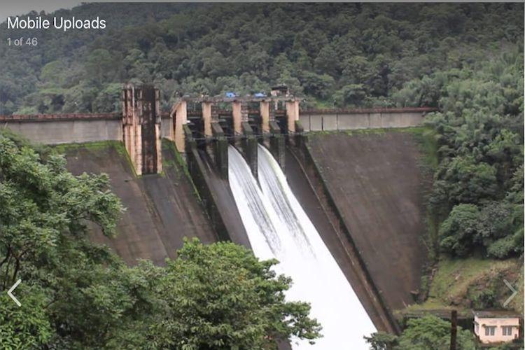 Idamalayar dam shutters opened as reservoir hits full capacity at 169 mts
