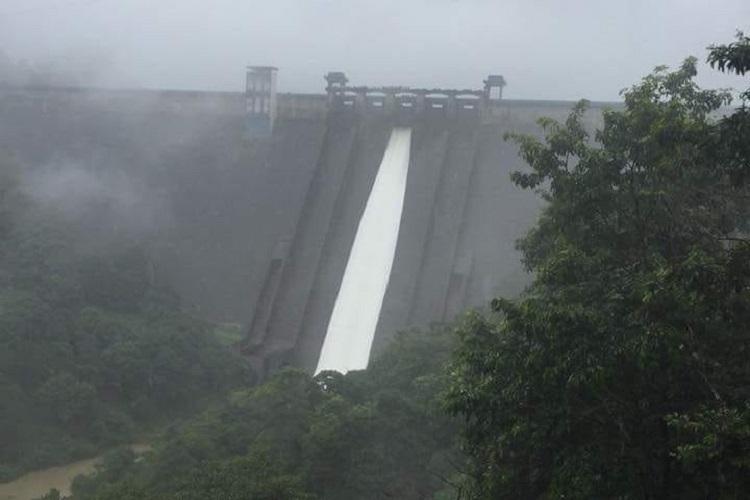 Kerala rains One shutter of Cheruthoni dam in Idukki opened on Saturday morning