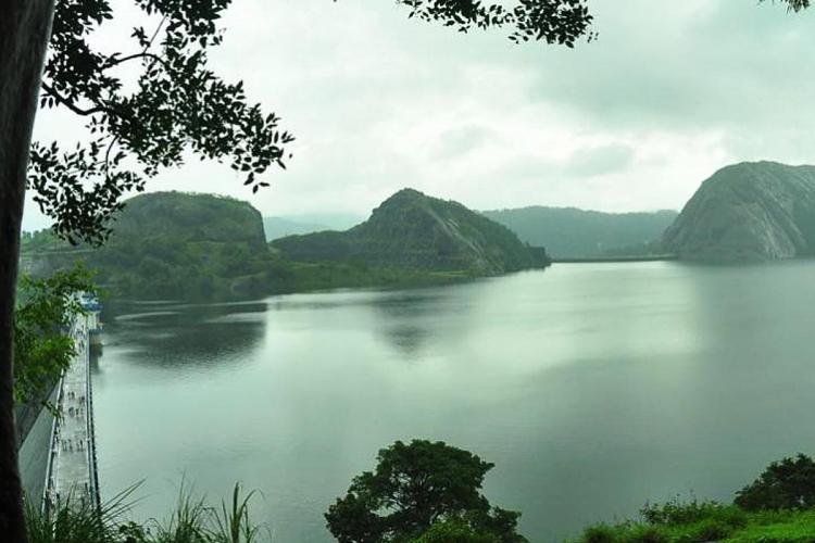 Idukki dam and reservoir