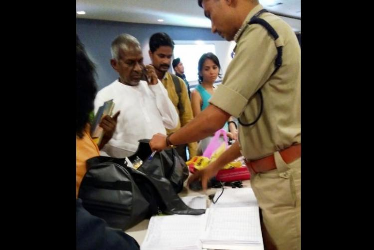 Music composer Ilayaraja gets into minor scuffle with Bengaluru airport security over prasad