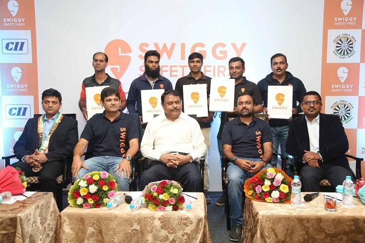 Swiggy rolls out Safety First road safety programme for its delivery partners
