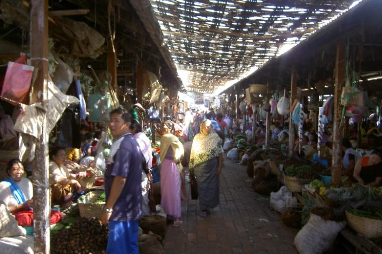 Manipurs historic womens only market damaged in earthquake