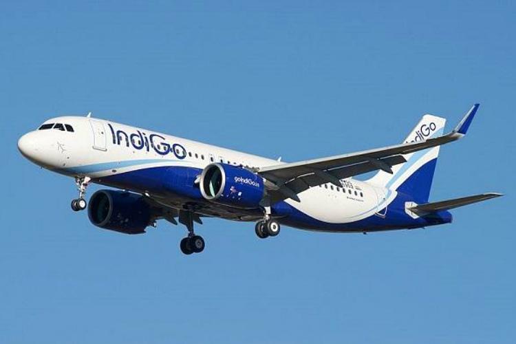 IndiGo airlines aircraft