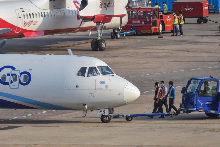 12 IndiGo passengers who travelled on four flights test positive for coronavirus