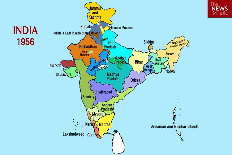 Explainer The reorganization of states in India and why it happened