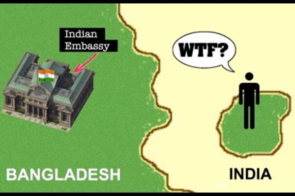 The history and hubris of the India-Bangladesh border explained ironically well by two Brits