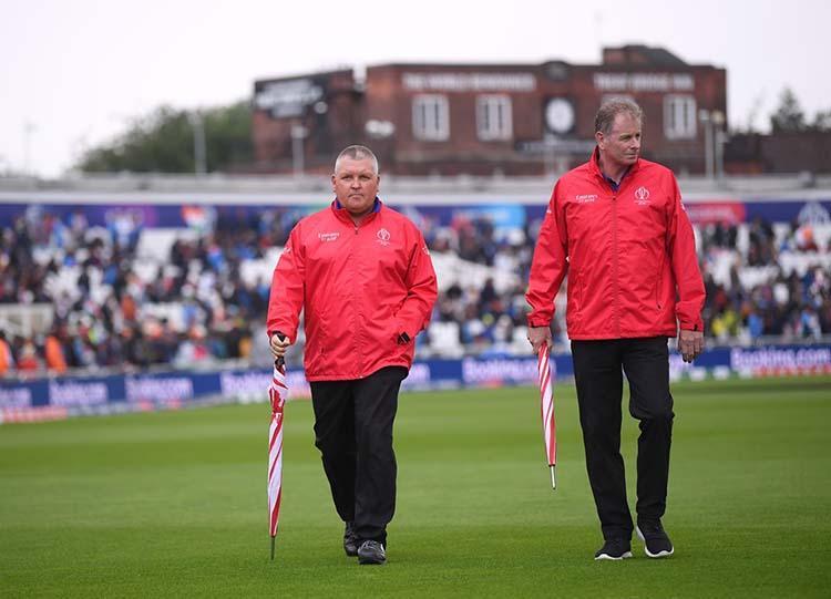 ICC World Cup Rain delays start of India-New Zealand match