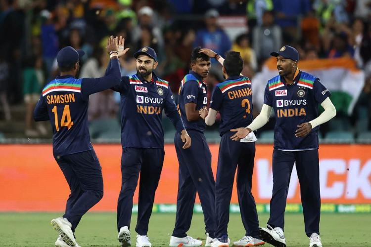 T Natarajan Chahal shine as India defeats Aus by 11 runs in first T20