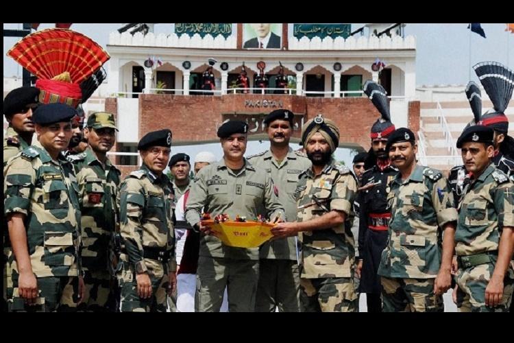 No exchange of sweets at India-Pakistan border on Diwali