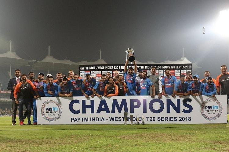 India beat West Indies in last-ball thriller to complete T20 series whitewash
