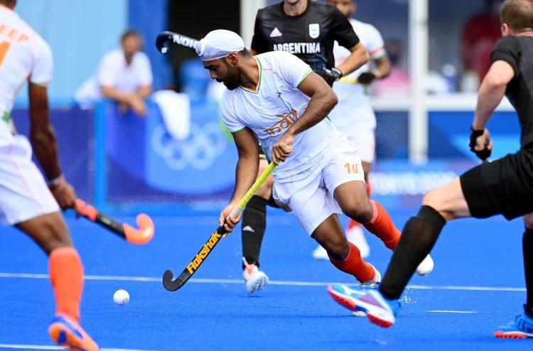 India defeat Argentina 3-1 in men's hockey Group A match