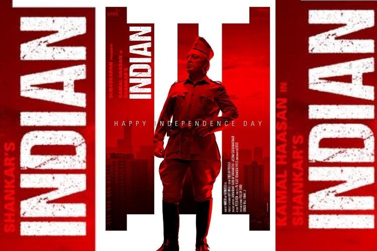 Senapathy strikes a pose in new poster from Kamals Indian 2