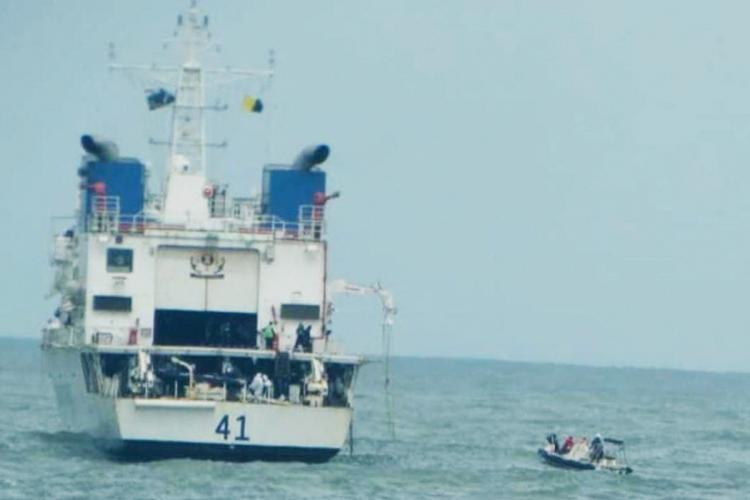 Cyclone Tauktae Indian Coast Guard rescues fishermen stranded at sea