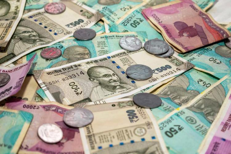 indian currencies showed in pic