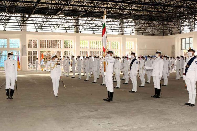 Course completion ceremony held at Indian Naval Academy in Kannur