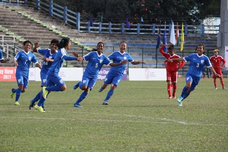 Indian womens football team enter final of SAFF Championship