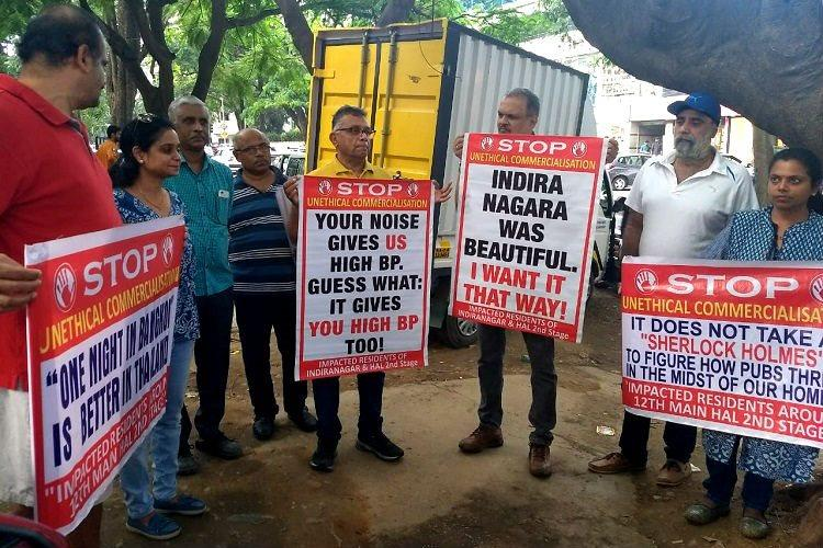 Bluru pubs protest live music ban residents say buildings themselves are illegal