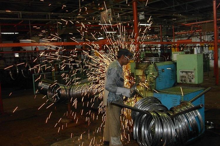 A representative image of Industrial production