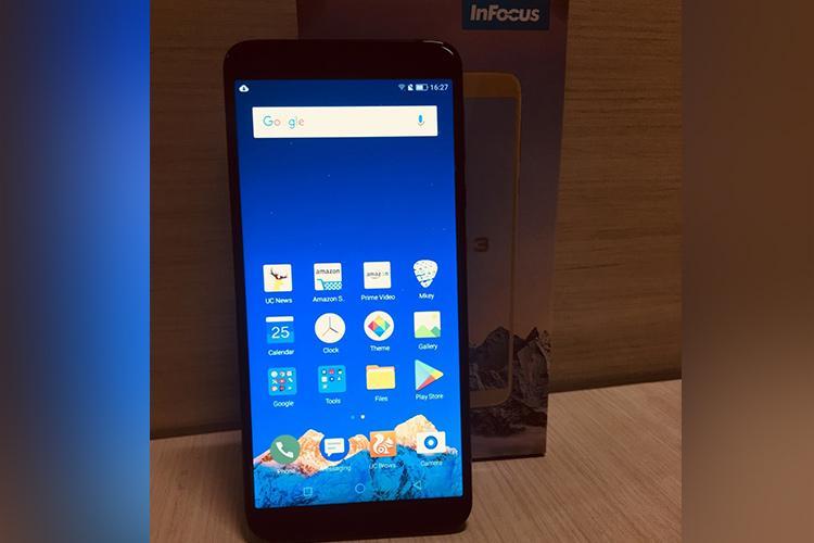 InFocus Vision 3 PRO review 4000mAh battery with 57-inch screen HD display