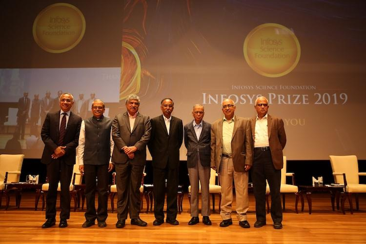 Data researcher to molecular scientist List of winners of the 11th Infosys Prize 2019