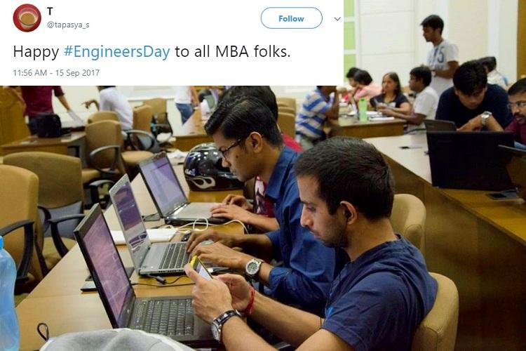 On Engineers Day Twitter remembers Sir M Visvesvaraya and chuckles at techie jokes