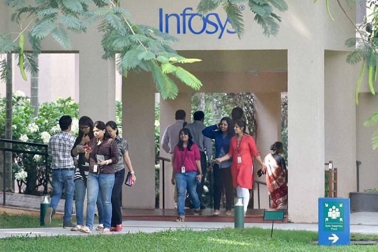 Infosys advances on share buyback plan