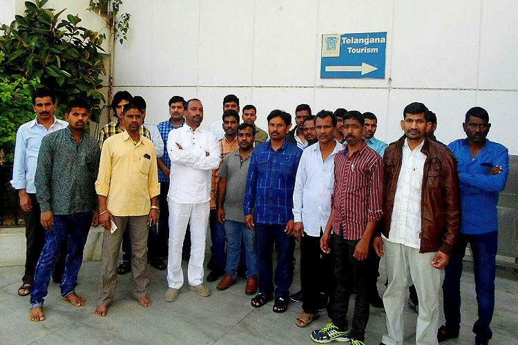 After years of harrowing ordeal in Iraq 31 migrant workers from Telangana make their way home