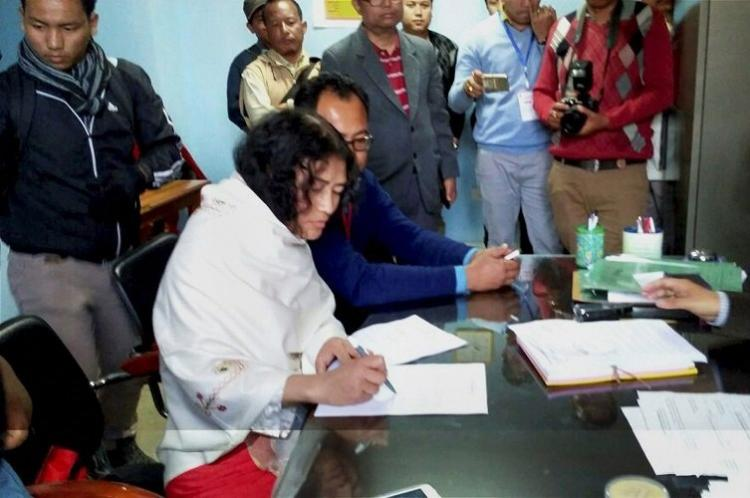 After poll defeat heartbroken Irom Sharmila says she will quit politics