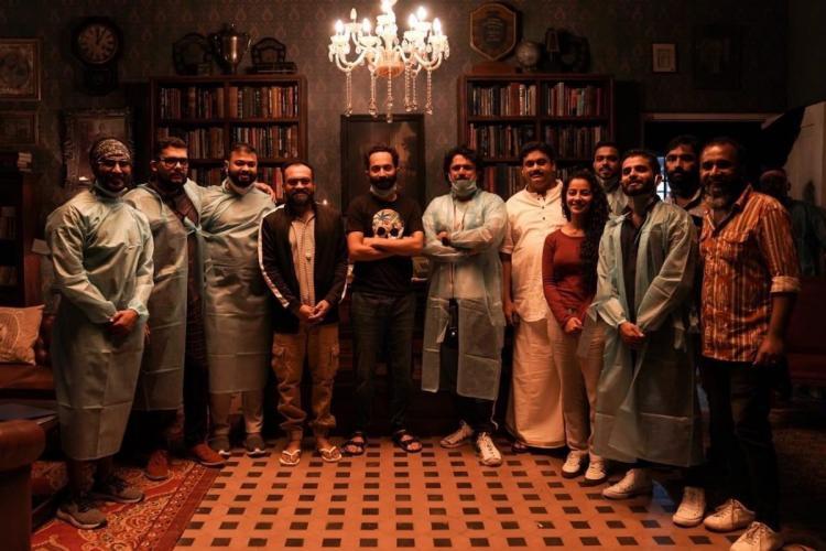 Fahadh Faasil Darshana Soubin Irul Kuttikanam shoot malayalam mollywood idukki