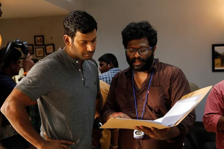 I was doubtful if Irumbu Thirai would release as planned or not Vishal